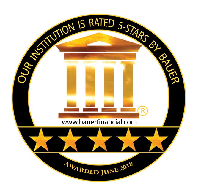 Bauer Financial 5 Star Rating June 2018