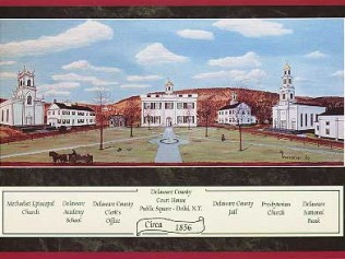 Delaware County Court House 1856