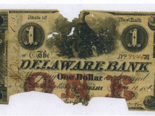 Delaware Bank 1 Dollar Bill