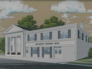 Delaware National Bank 1986 by Thomas Rutledge