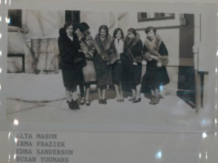 Bank Employees Outside of Bank Feb. 28, 1929