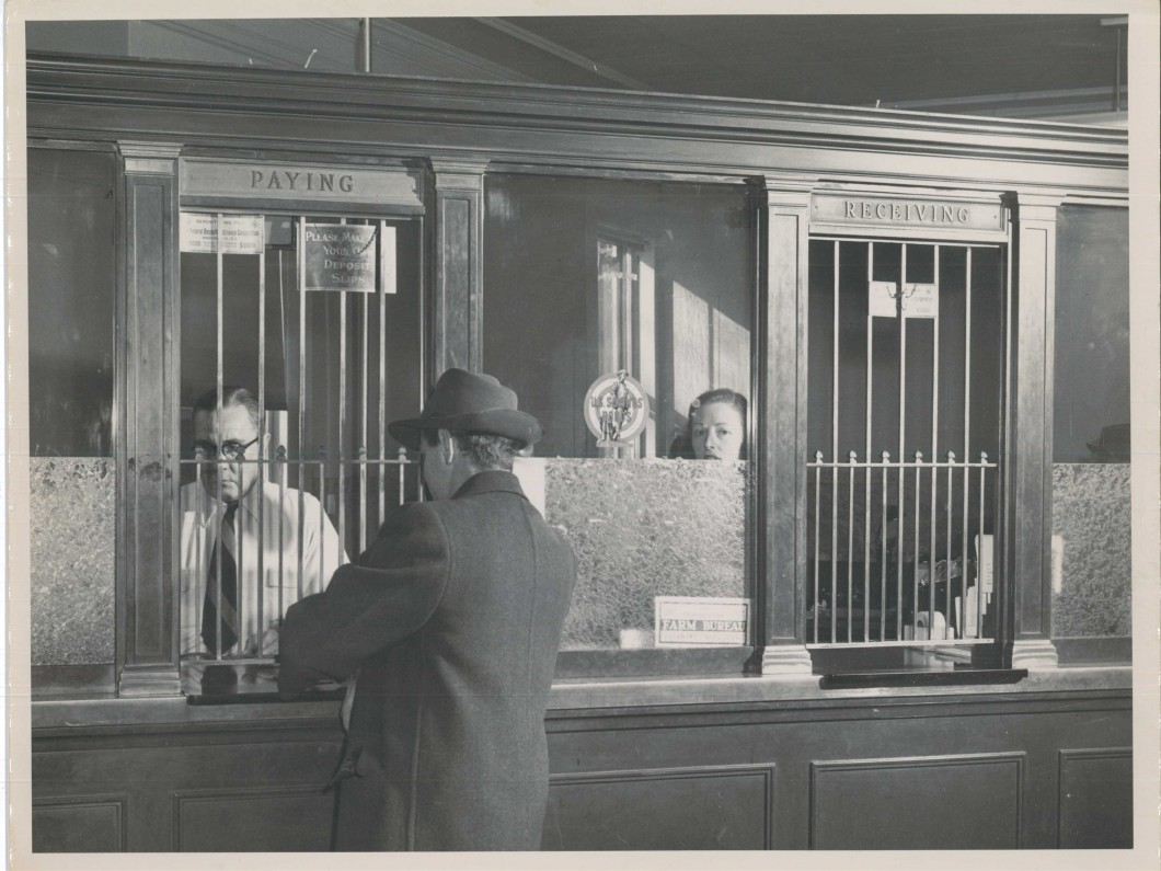 1950s Bank Transaction